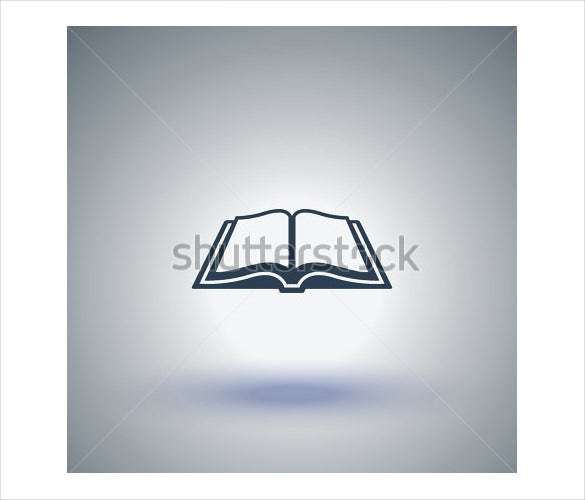 open book vector icon download