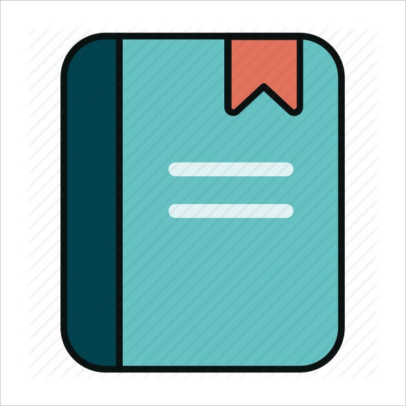 blue book icon vector download