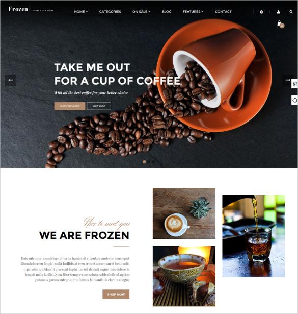 coffee prestashop theme 68