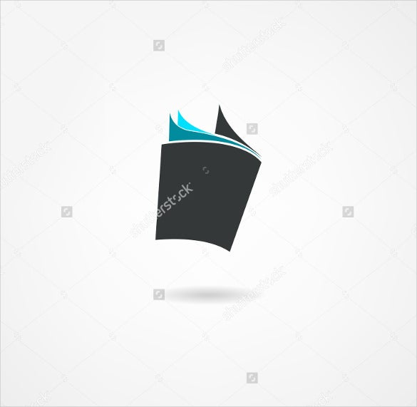 open book icon vector illustrator download