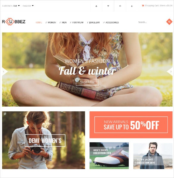 design responsive fashion prestashop theme 49