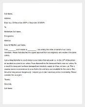 Example Coplaint Letter Template1