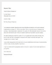 Customer Complaint Letter Poor Services Template Free Download1