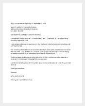 Complaint Letter to Landlord PDF Format1