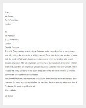 Funny Complaint Letter Template 1