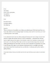 Tenant Complaint Letter about Nuisance1
