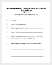 Environment Complaint Form Free Download1