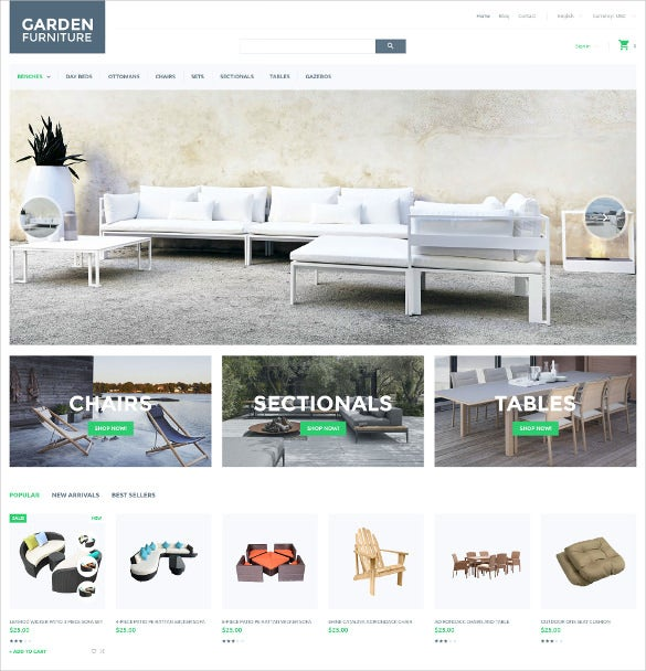 garden furniture prestashop theme 139