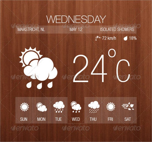 professional weather icon download