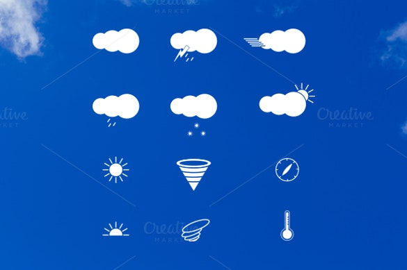 stunning weather icons download