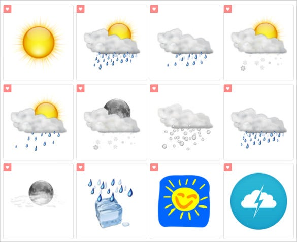 free amazing weather icon download