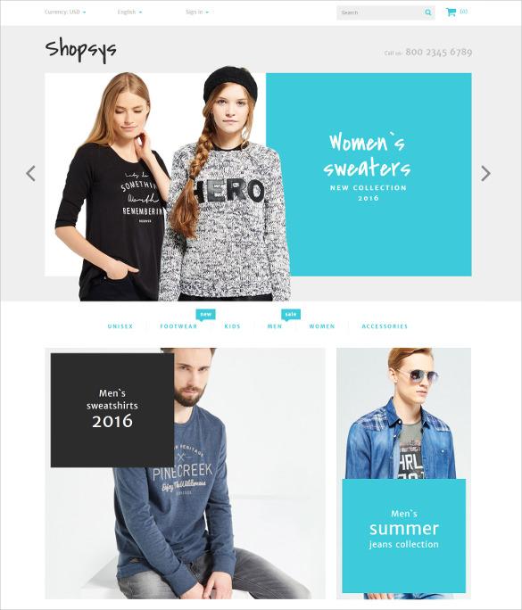 trendy clothes prestashop theme 139