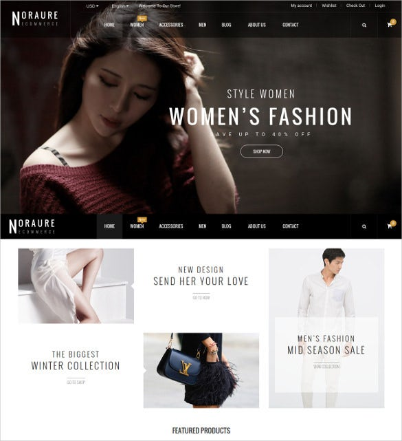 design responsive prestashop theme 70