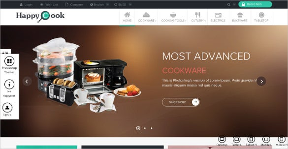 restaurant prestashop theme 30