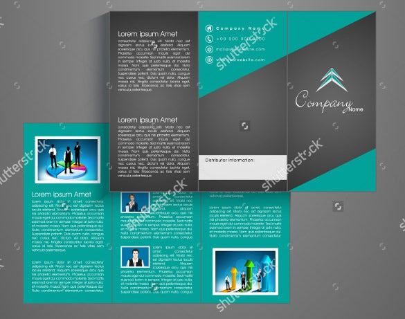 corporate tri fold brochure template koni polycode co