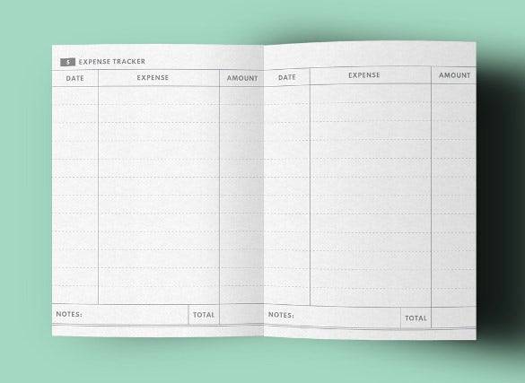 midori expense tracker template download