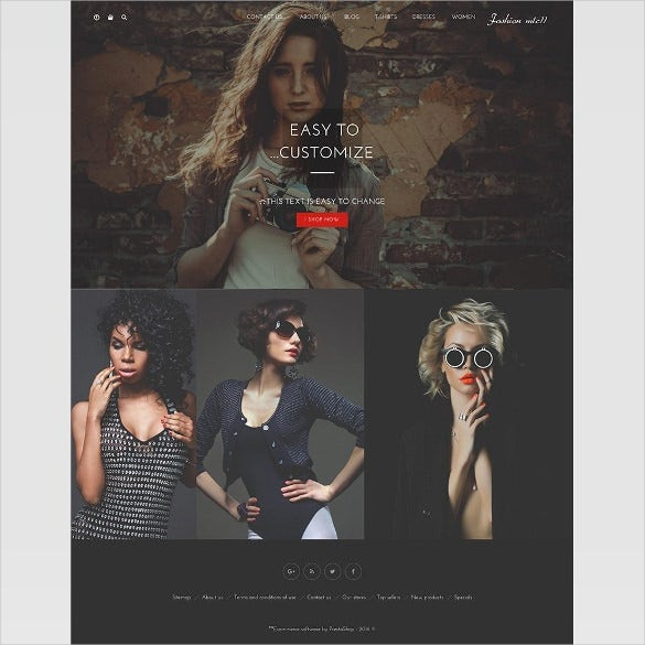 clothing and fashion ecommerce prestashoptemplate 69