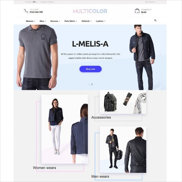 multicolor fashion store prestashop template 59