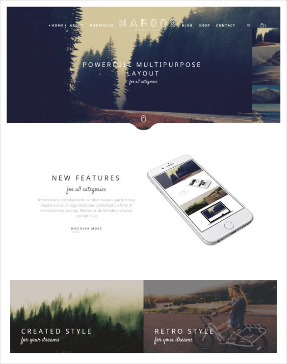 holiday wordpress theme1