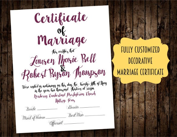 wedding certificate template for download1