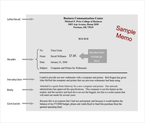 Company Memo Template Business Memos Look Best When Kept Simple And