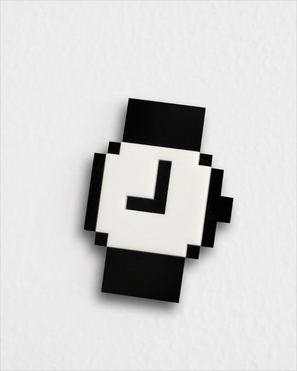 mac pixel clock icon