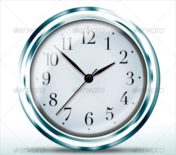 high quality clock icon