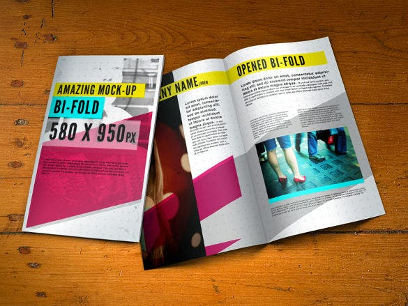 free bi fold brochure for download