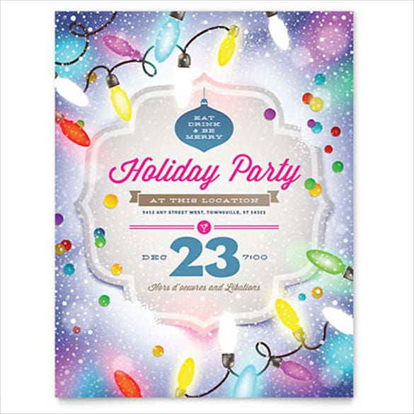 Party Flyer Templates Word Idealstalist