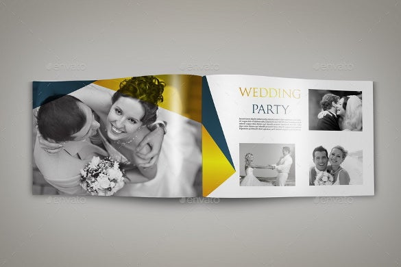 Photography Brochure Template Free PSD AI Vector EPS - Wedding photography brochure template