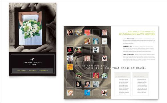 photography studio brochure template