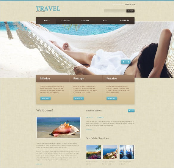 elegaant travel guide wordpress theme