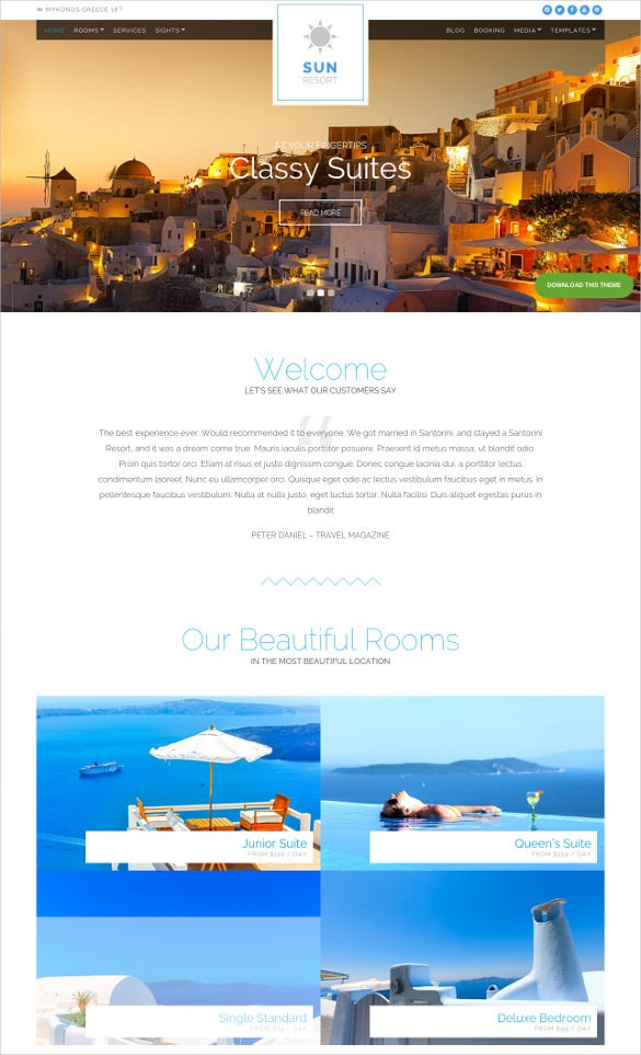beautiful travel wordpress theme1
