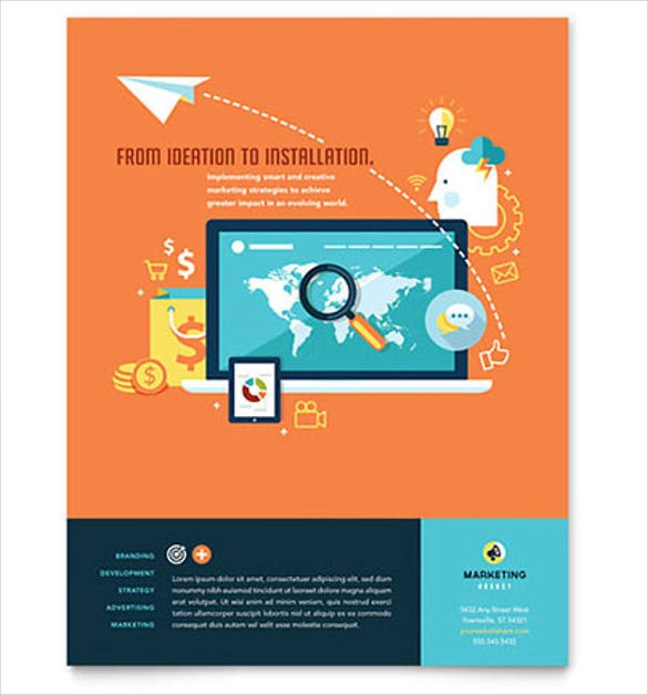 Free Flyer Templates | 33 Business Flyer Templates Word Psd Publisher Indesign