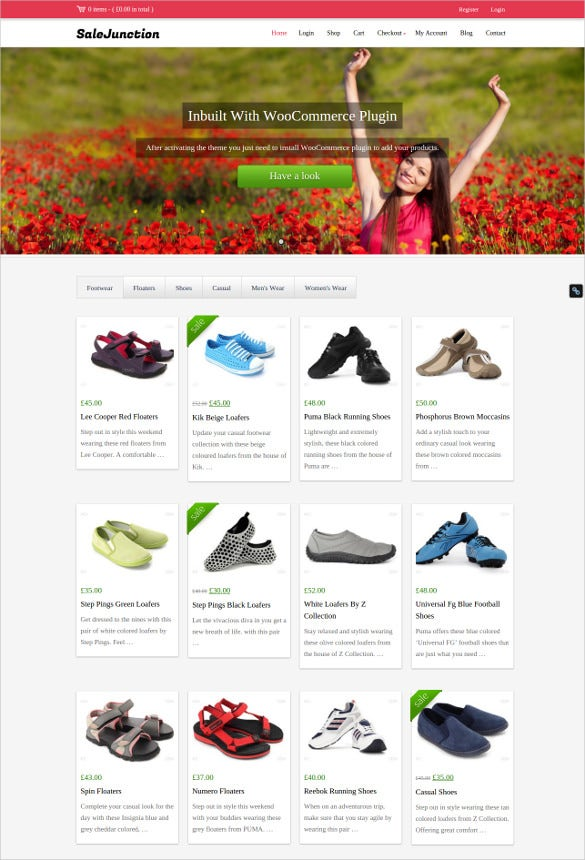 e commerce wordpress theme