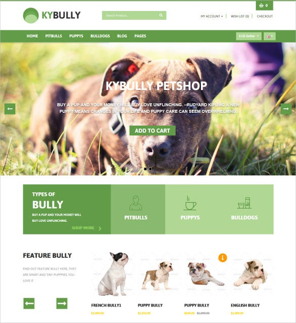 responsive animal pets zencart theme 481