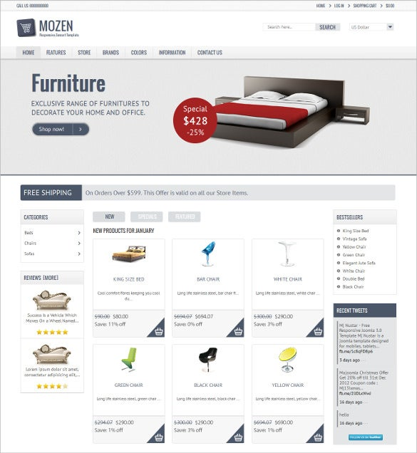 retail responsive zencart template 48