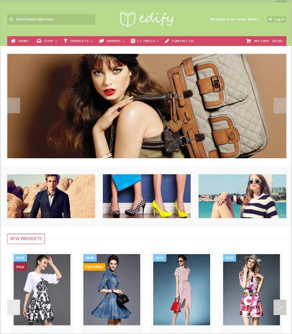 responsive mobile ecommerce store zencart theme 48