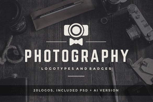 different type of photography logos download