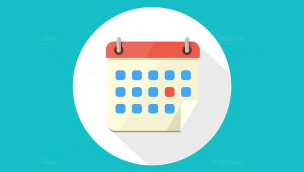 Calendar Icons – 31+ Free PNG, Vector EPS, JPG, AI Format Download