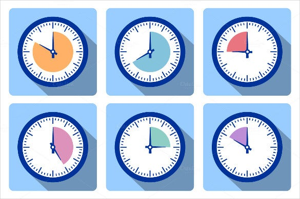 Clock Icons 43 Free Psd Ai Vector Eps Format Download