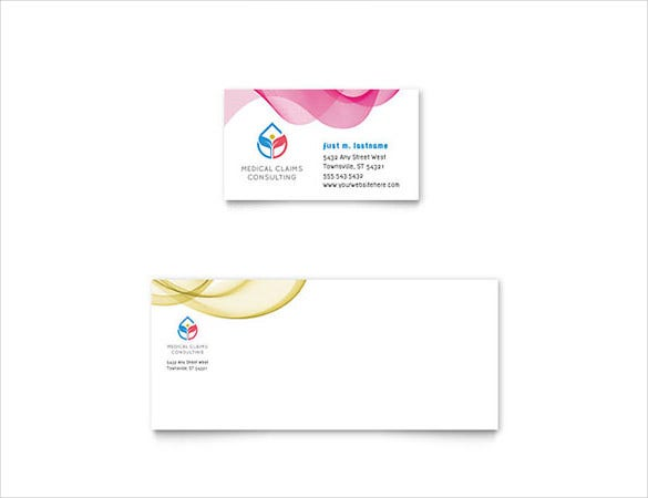 22 free business card templates in word format free premium insurance consulting business card wajeb Images