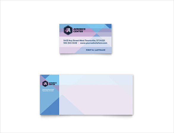 22 free business card templates in word format free premium microsoft word aerobics center business card template download aerobics center business card flashek Gallery