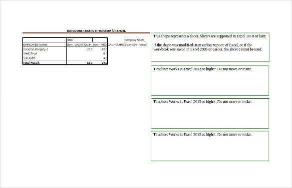 employee tracking template  u2013 10  free word  excel  pdf