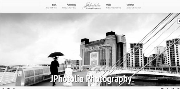 modern wedding wordpress website template