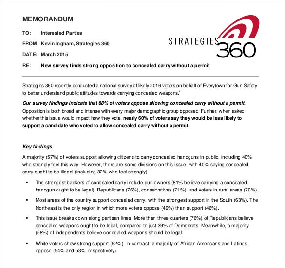 Strategy Memo Template – 11+ Free Word, PDF Documents Download | Free & Premium Templates