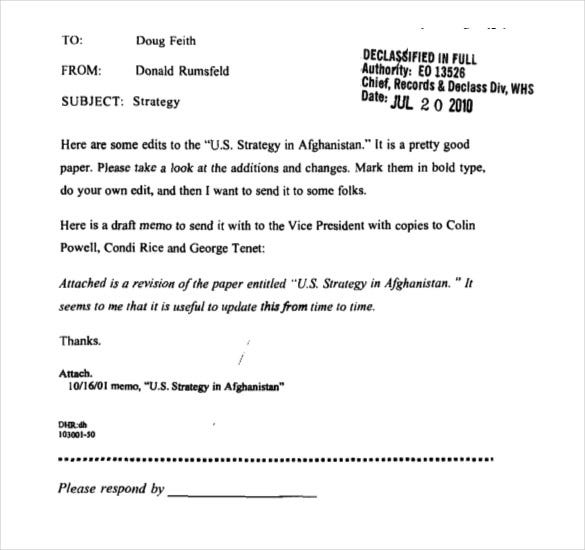 Strategy Memo Template   Free Word Pdf Documents Download