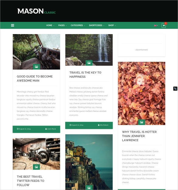 responsive multipurpose wordpress website theme