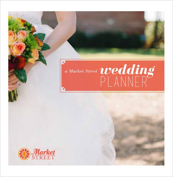 easily downloadable wedding planner template