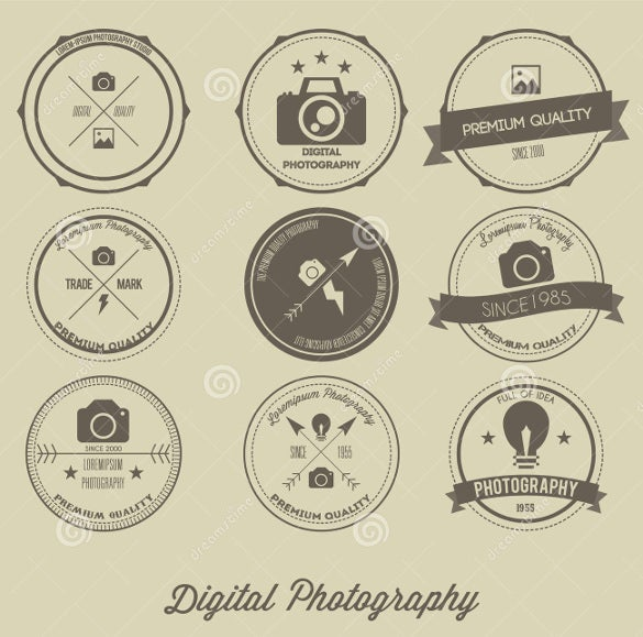 latest digital photography logo download